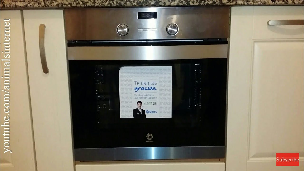 Uitgelezene How to use a Balay (Bosch, Siemens) electric oven 3HB505XM step by LH-74