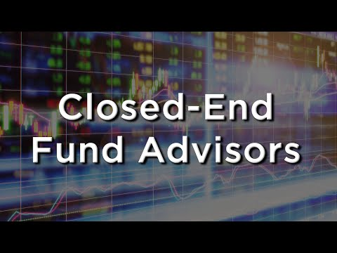 Closed End Fund Advisors - The ABCs of BDCs