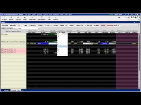 Interactive Brokers Order Tips - March 17, 2017