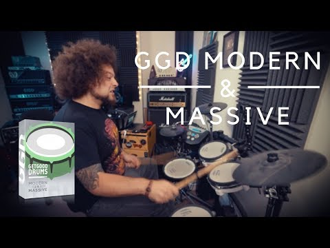 GGD Modern & Massive | MY FAVOURITE DRUM ROOM AT MY FINGERTIPS!!!