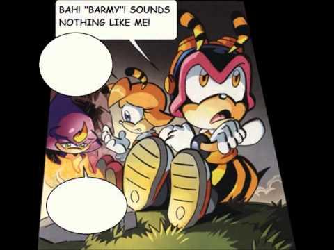 Sonic Halloween Comic Parody - Ghost Town