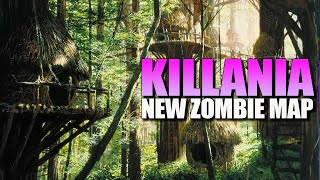 KILLANIA - New Zombie Map! (Call of Duty Zombies Map)