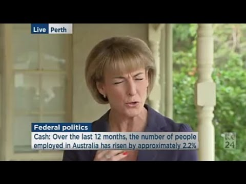 """""""The huge incredible surplus"""": Michaelia Cash on what's in the Coalition's Dee Enn A"""