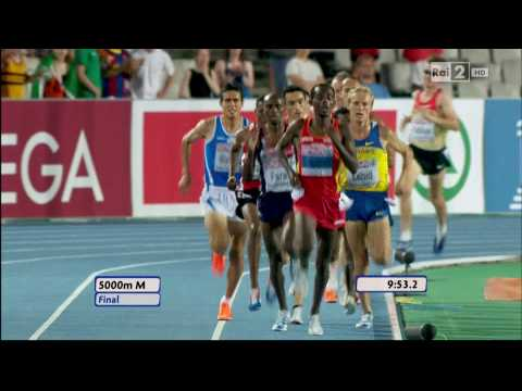 5000m men FINAL 20th European Athletics Championships Barcelona 2010 HD