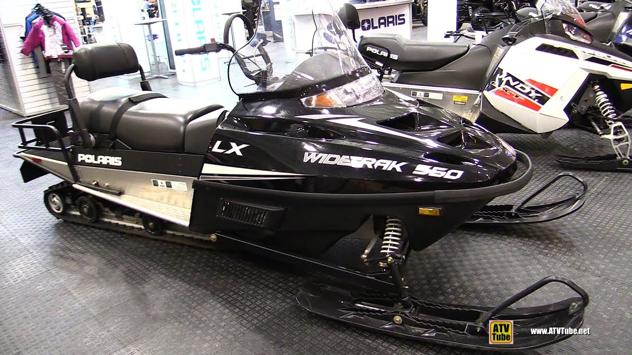 2016 Polaris Widetrack 550 Lx Sled Walkaround 2015