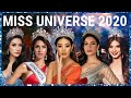 Miss Universe 2020 TOP STRONGEST CONTENDERS