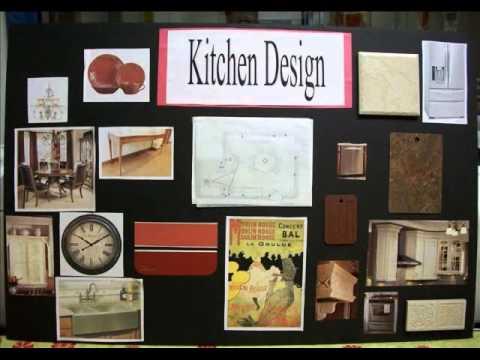 INTERIOR DESIGN Presentation Board Video Mov YouTube