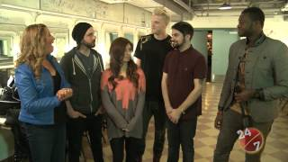 Pentatonix Full Interview and Performance of Love Again