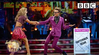 Tom Fletcher and Amy Dowden Cha Cha to September by Earth Wind and Fire ✨ BBC Strictly 2021