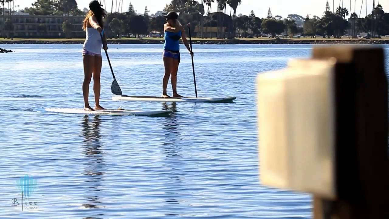 Bliss Paddle Board Sup Yoga In Mission Bay San Go