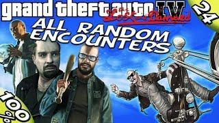 GTA IV TLAD - ALL RANDOM ENCOUNTERS [100% Walkthrough]
