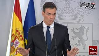Pedro Sánchez, presidente del Gobierno, anuncia el nuevo Ejecutivo  06-06-18