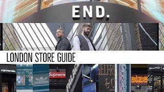 The 13 Best LONDON Sneaker & Streetwear Shops