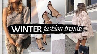 WINTER Fashion Trends 2018 | Julia Havens