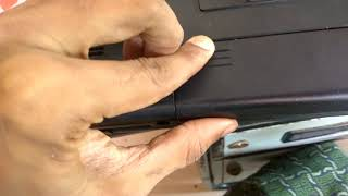 How to remove HP Laptop Battery ?