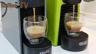 Nespresso Essenza Mini im Test: Unboxing, Hands-On & kurzer Vergleich (Krups & De'Longhi Variante)