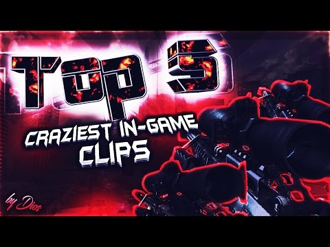 Top 5: Craziest In-Game Clips (Episode 1)(all recent clips)
