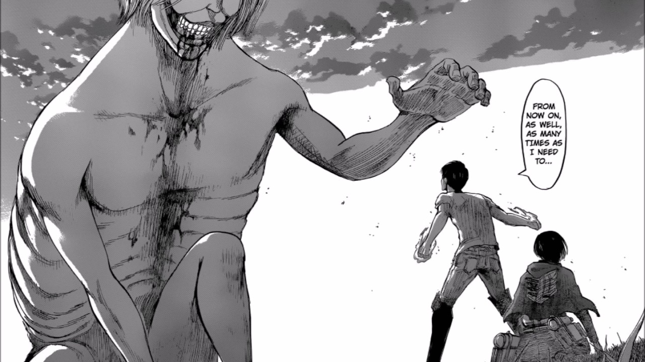 attack on titan chapter 50 manga