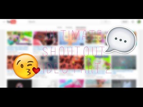 LPS: Ultimate Shoutout Video Part 2 | LPSHarmonyTV