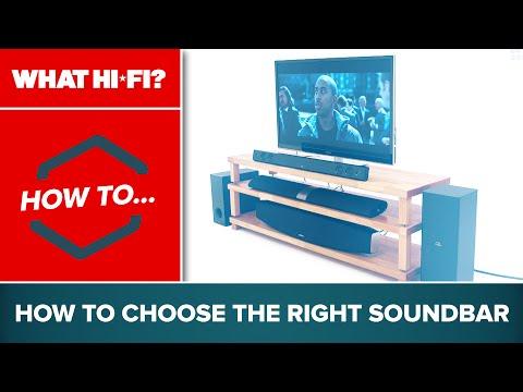 How to choose the right soundbar