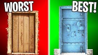 RANKING EVERY DOOR IN BF1 FROM WORST TO BEST! | Battlefield 1