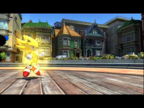 Sonic Generations (PS3): All Modern Stages With Super Sonic