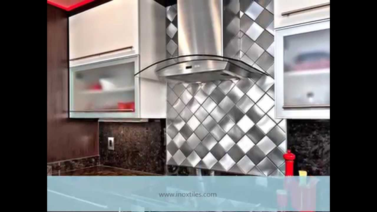Inox Tile Backsplash Kitchen Backsplash Ideas Youtube