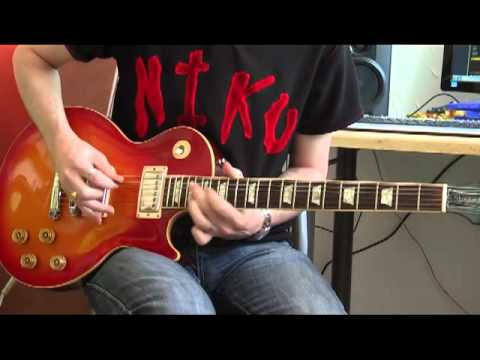 Slash – Hard and fast (guitar solo cover)