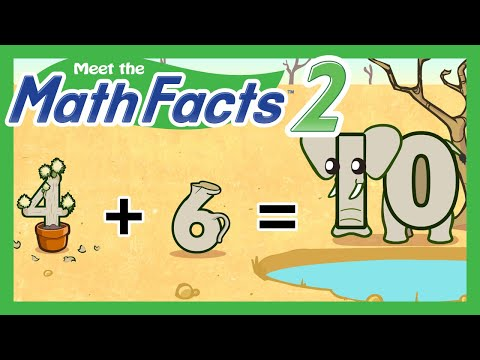 Meet The Math Facts Level 2 - 4+6=10