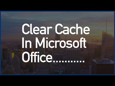 How To Fix/Remove/Clear Cache In Microsoft Office Easily, Working Method ✔✔✔