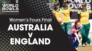 Women's Fours Final | Australia v England