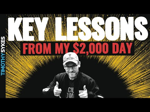 Key Lessons From My $2,000 Day