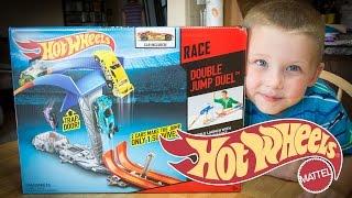 Hot Wheels Race Double Jump Duel - Hot Wheels Toys - Car Races!