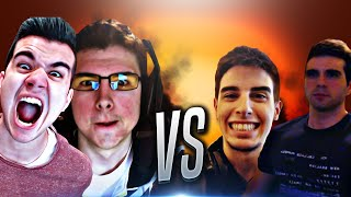 NOS JUGAMOS 2 PS4!! - Willyrex Y sTaXx vs Vegetta Y Alexby | Rocket League