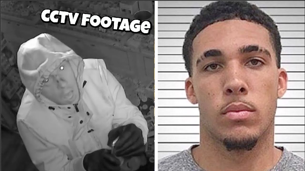 Liangelo Ball Arrested Footage In China For STEALING ...