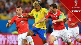 Brazil Fail To Close Out Game As Switzerland Earns Draw With 2nd Half Goal