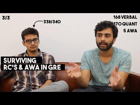Nailing Down RC's and AWA | GRE Prep | Graduate Exam