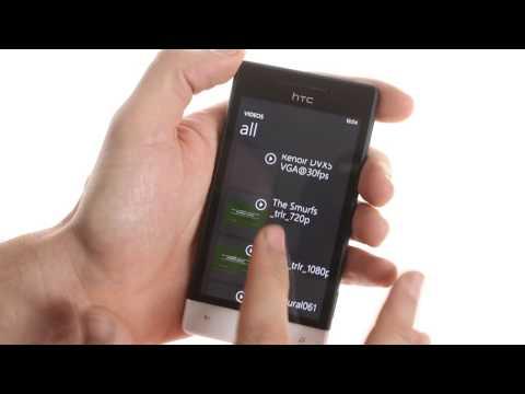 HTC Windows Phone 8S user interface