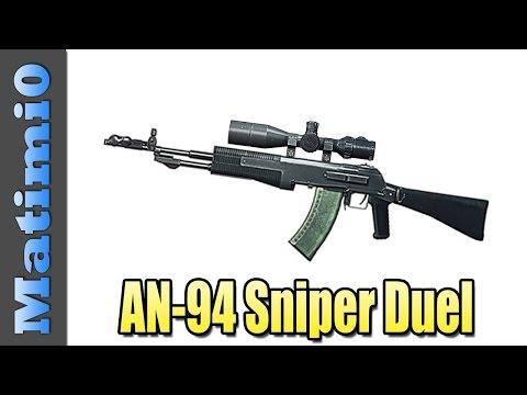 AN-94 Sniper Duel - Glitchy Stalker - Battlefield 4