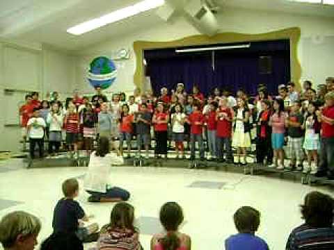 Marshall Lane Elementary School 3rd Grade recital   May 20, 2009