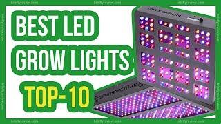10 Best LED grow lights 2018 | LED grow light review
