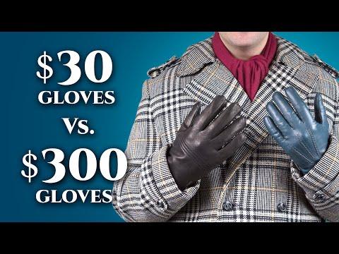 $30 vs $300 Leather Gloves For Men- Differences in Mens Dress Gloves Gentlemans Gazette