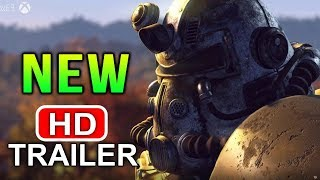 Fallout 76 Gameplay Reveal Trailer – 4 TIMES BIGGER THAN FALLOUT 4 (Bethesda E3)