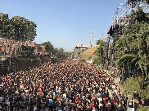 [4K] Nina Kraviz live at Exit Festival Dance Arena 09.07.2017 dropping Schacke - Make Them Remember