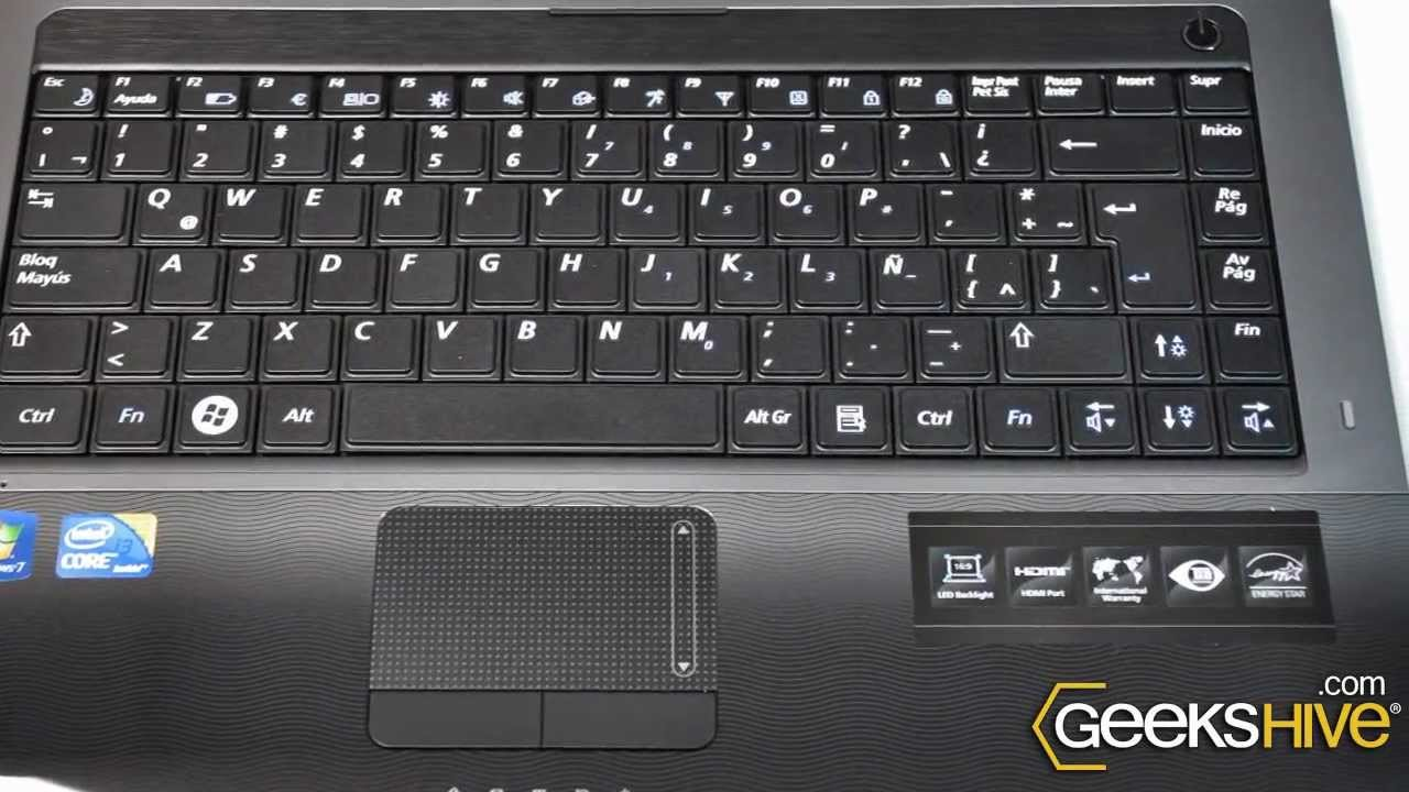 Netbook Samsung NP-R440 - review by www.geekshive.com ...