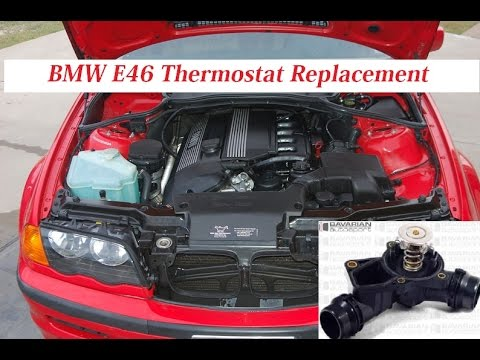 bmw e46 thermostat replacement how to replace thermostat. Black Bedroom Furniture Sets. Home Design Ideas
