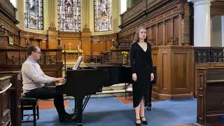 Porgi Amor (Le Nozze do Figaro) - Mozart Soprano: Yuliya Shkvarko