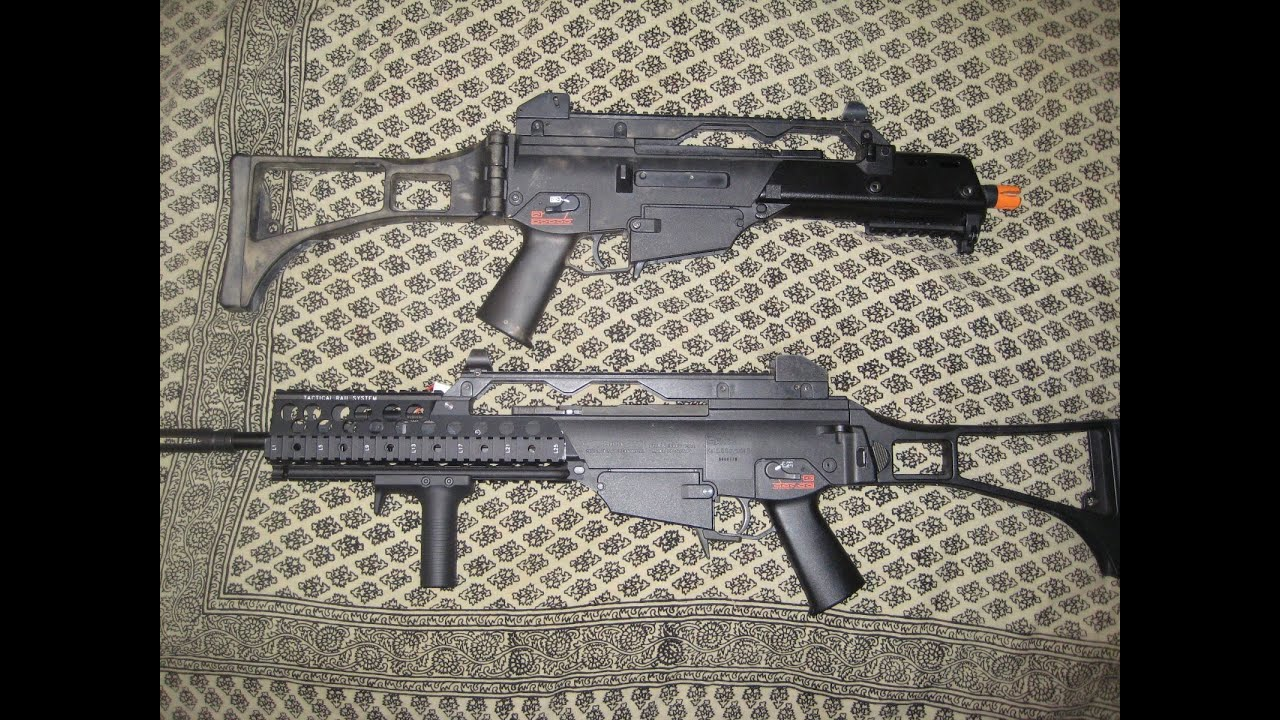 Double Review: SRC G36C and Classic Army G36C