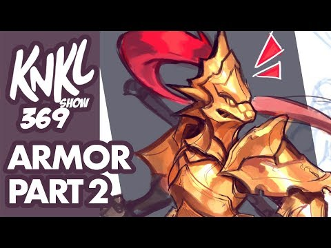 Stylized ARMOR part 2 (adding depth and detail to your armor!) KNKL 369