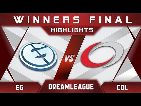 EG vs coL Winners Final DreamLeague Major 2017 NA Highlights Dota 2